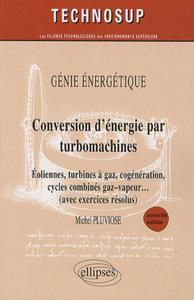 Conversion d'énergie par turbomachines